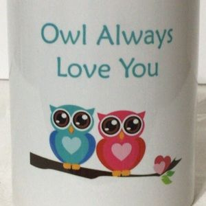 "🦋New Listing🦋""Owl Always Love You"" Vintage Mug"